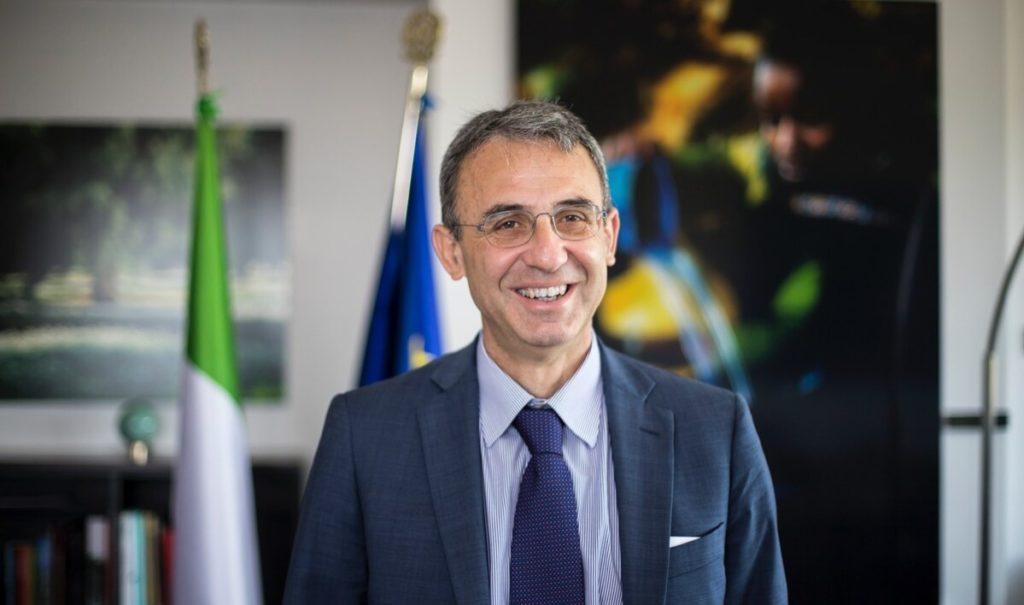 Ministro Ambiente Sergio Costa.