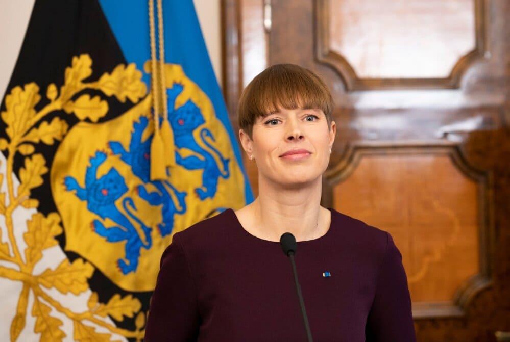 estonia Governo alle donne: chi è Kersti Kaljulaid