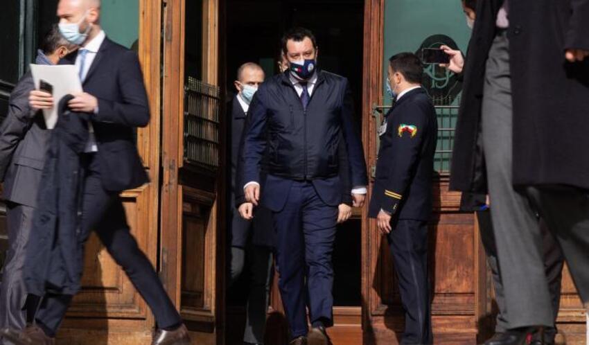 Mario Draghi, Salvini.