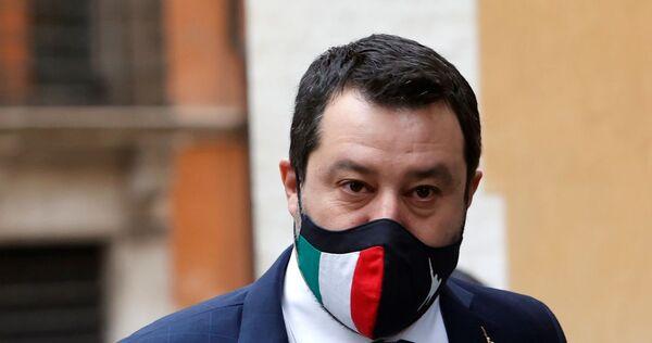 Italia arancione Salvini.