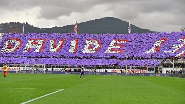La Fiorentina ricorda Astori, compagno di Francesca Fioretti.