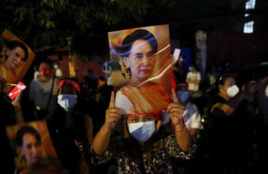 Colpo di Stato in Birmania.