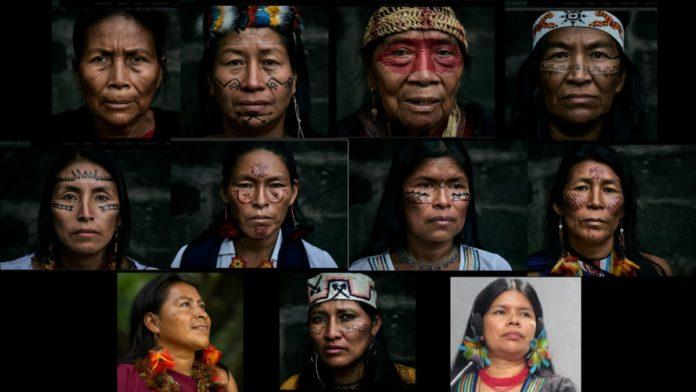 Donne che difendono l'Amazzonia