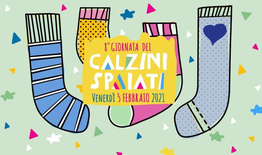 Giornata dei calzini spaiati ottava edizione.