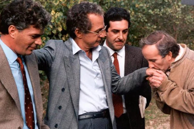raffaele cutolo film a lui ispirato il camorrista di Torntore 1986