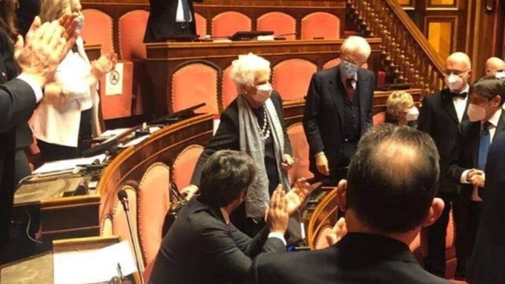Liliana Segre in Senato