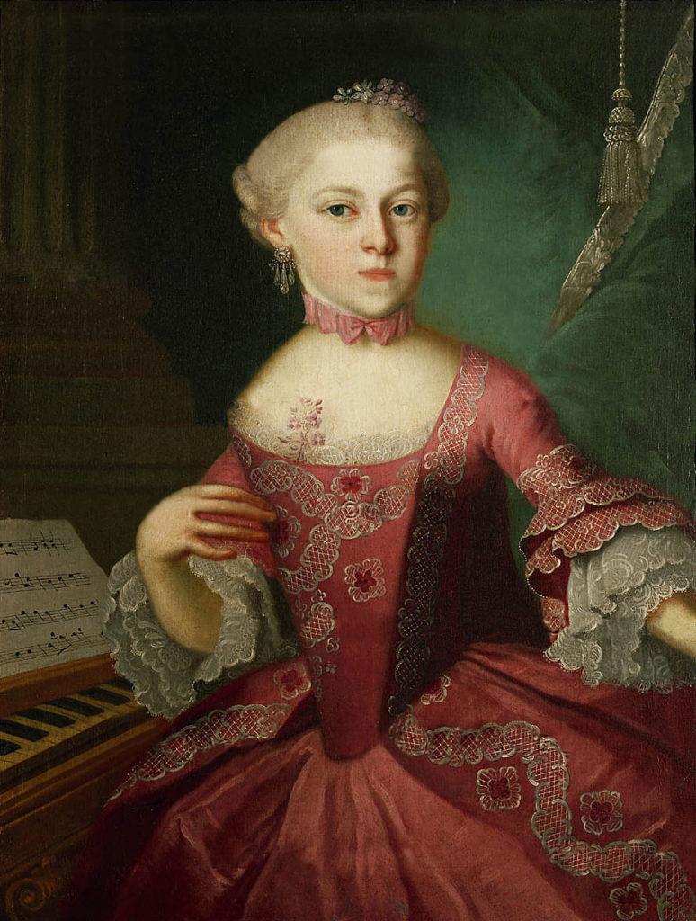 Chi è Maria Anna Mozart?