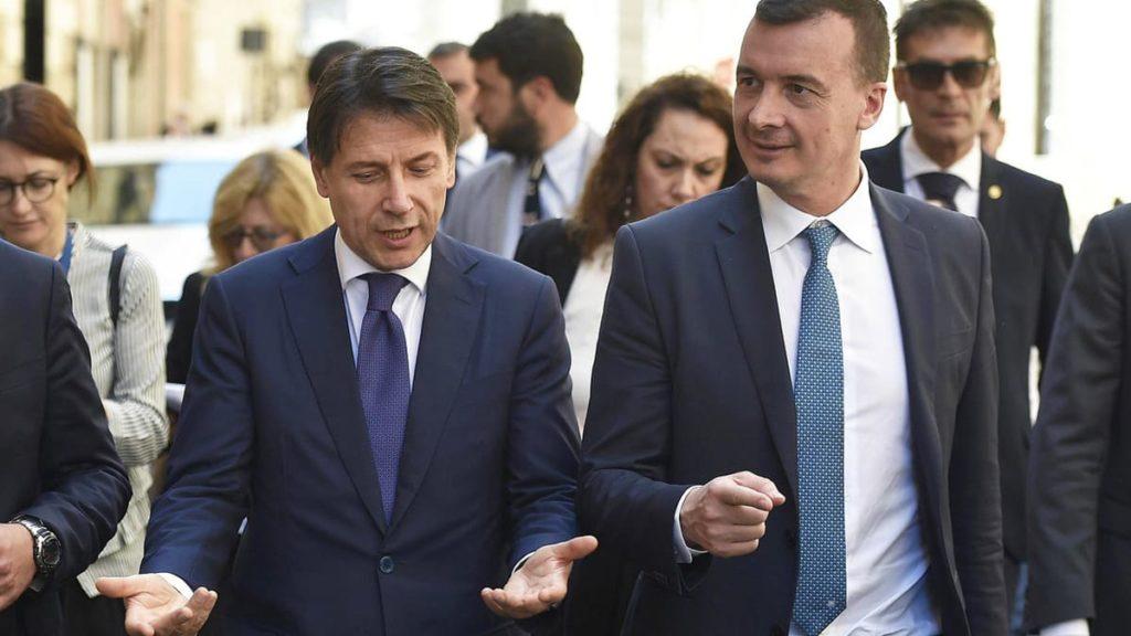 Rocco casalino_Giuseppe Conte