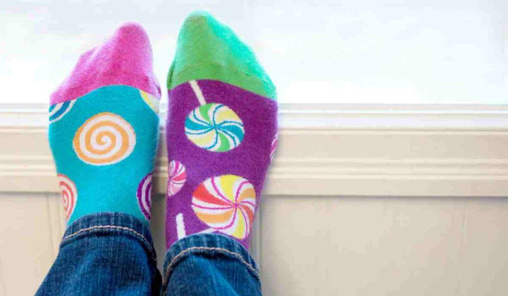 Giornata dei calzini spaiati.
