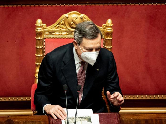 Mario Draghi Senato