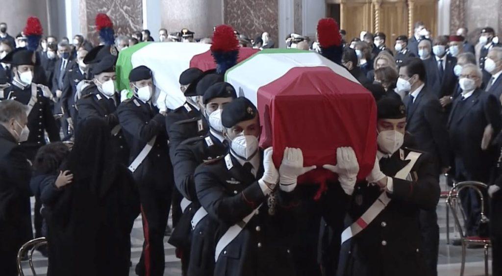 funerali ambasciatore attanasio e iacovacci a roma
