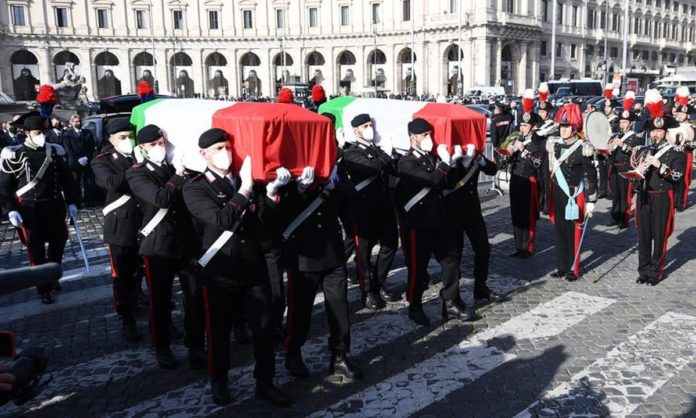 funerali ambasciatore attanasio