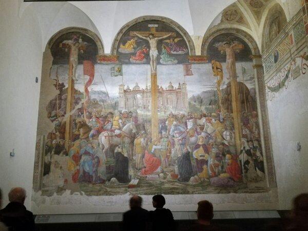 Cenacolo Crocifissione.