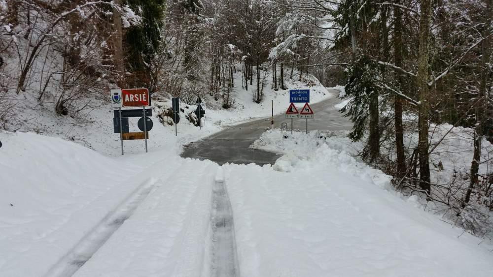 Palaghiaccio di Vipiteno neve.