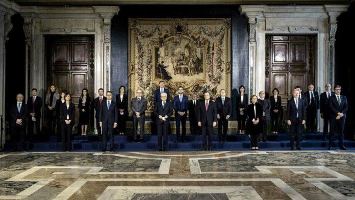 nuovi ministri_Governo Draghi