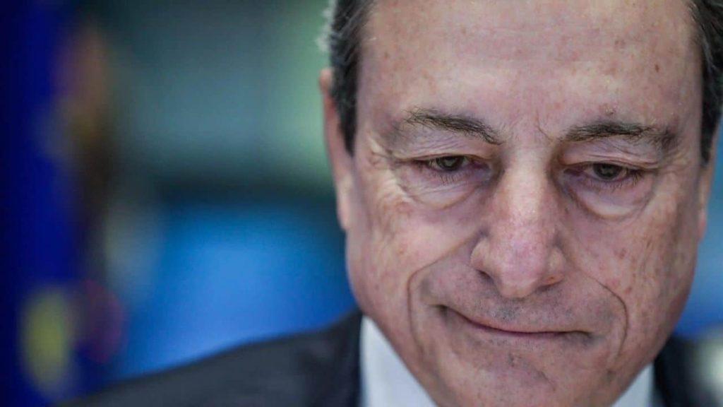 Mario Draghi sul recovery.