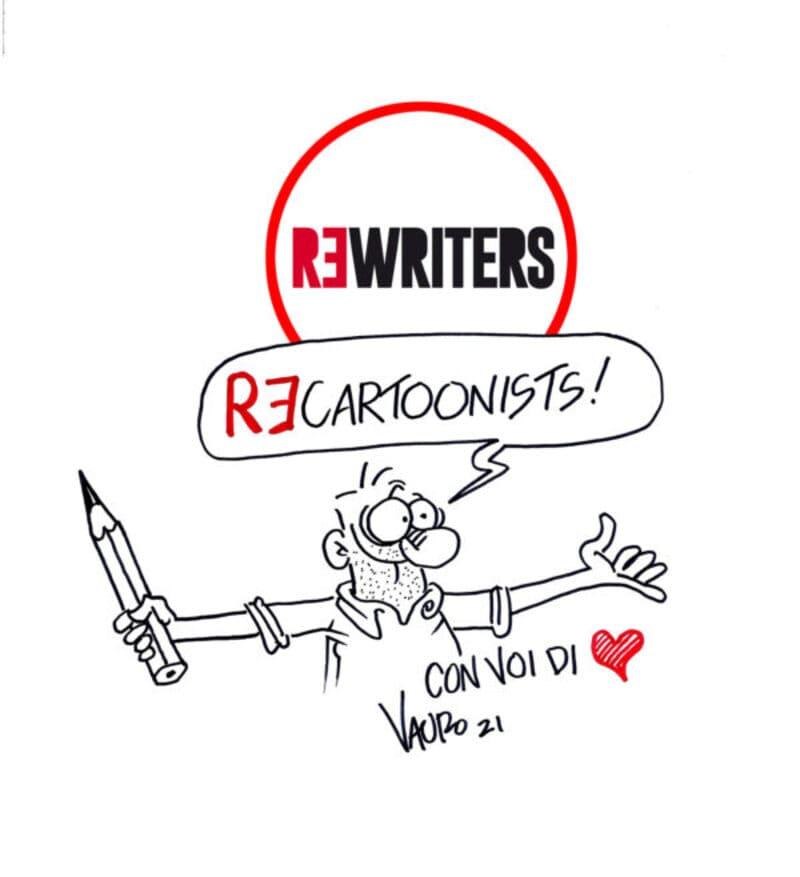 Vauro Senesi aderisce a ReWriters e lancia una call-to-action a tutti i fumettisti italiani.