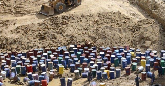 terra dei fuochi rifiuti illegali