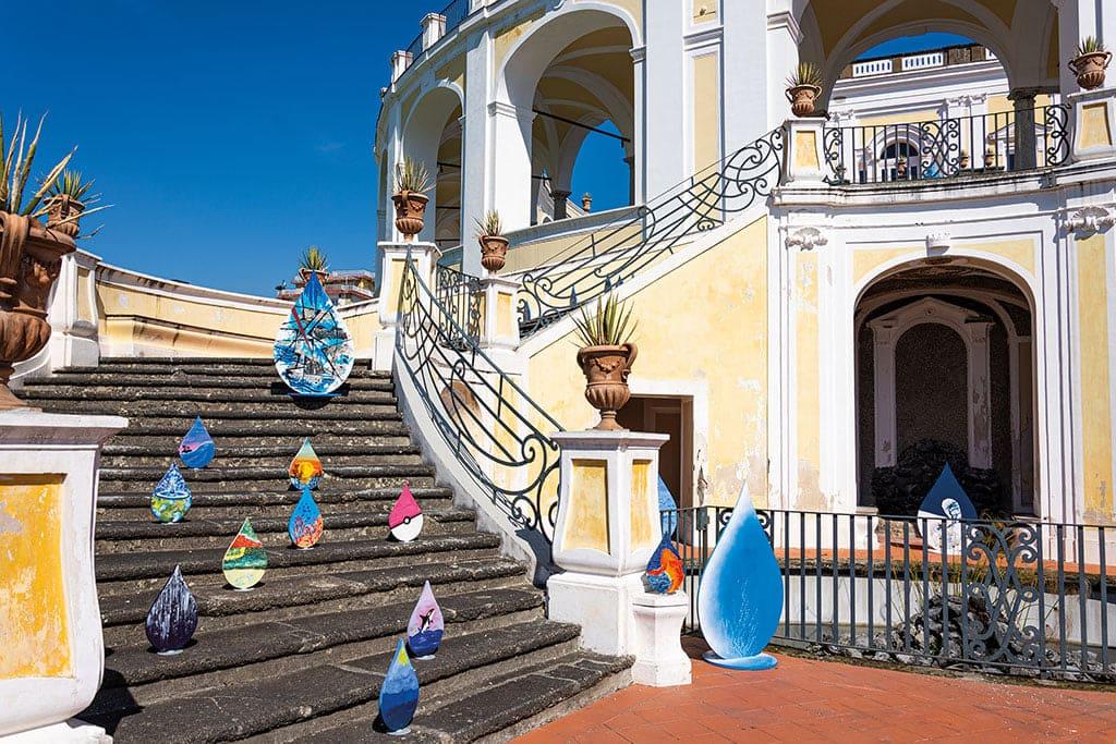 GORI, installazione artistica per la Giornata mondiale dell'acqua.