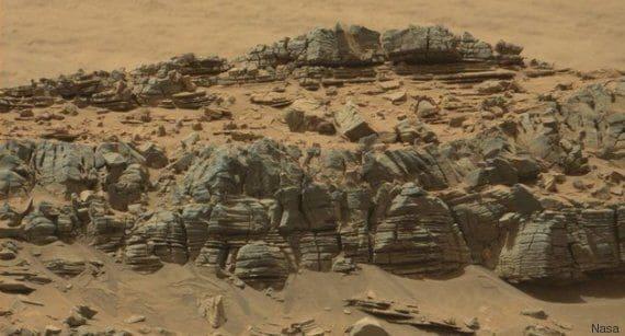Il Team di ricerca alla scoperta dei ragni su Marte.