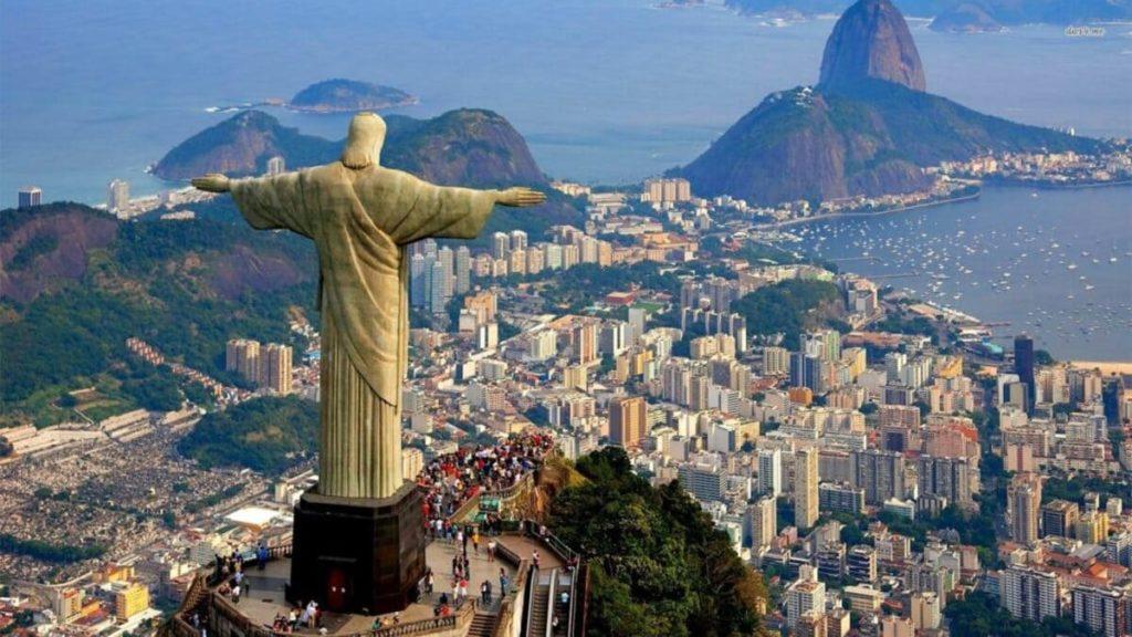 Cristo redentore di Rio de Janeiro