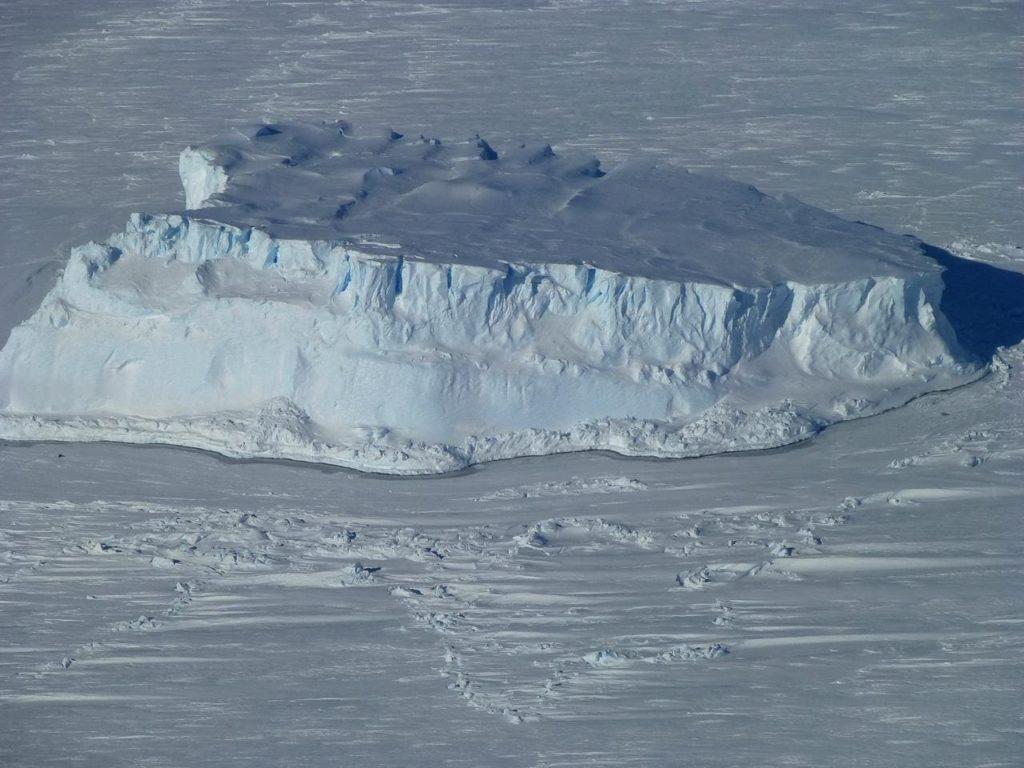 Il distacco dell'iceberg dalla piattaforma Brunt.