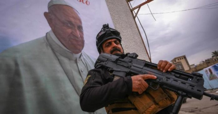 papa francesco iraq