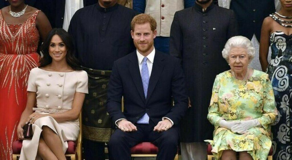 Meghan e Harry royal family.
