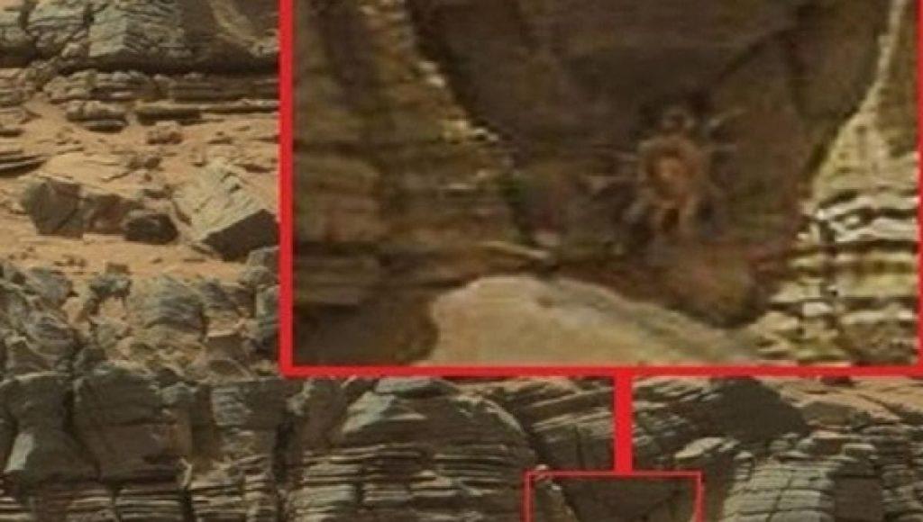 """Il fenomeno dei """"ragni"""" su Marte"""