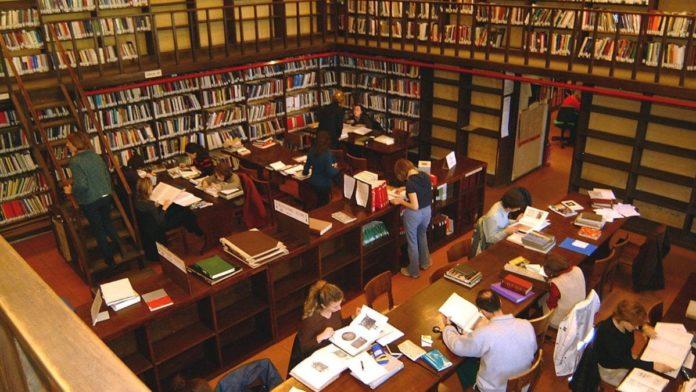 biblioteca di Palazzo Venezia