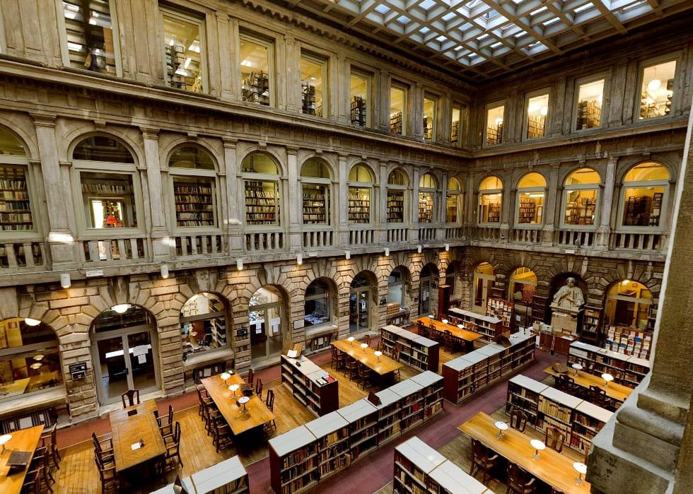 Il futuro della biblioteca di Palazzo Venezia.