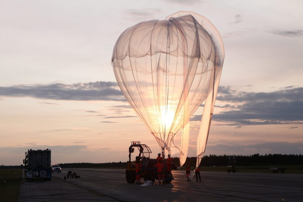 Pannelli solari stratosferici_pallone ausiliario
