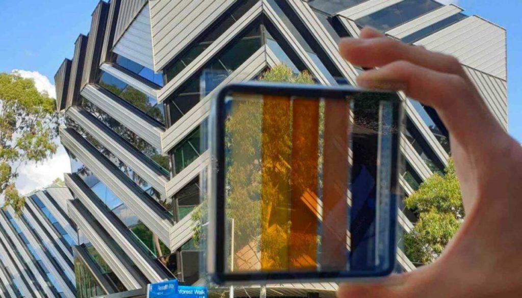Pannelli solari trasparenti_colorati