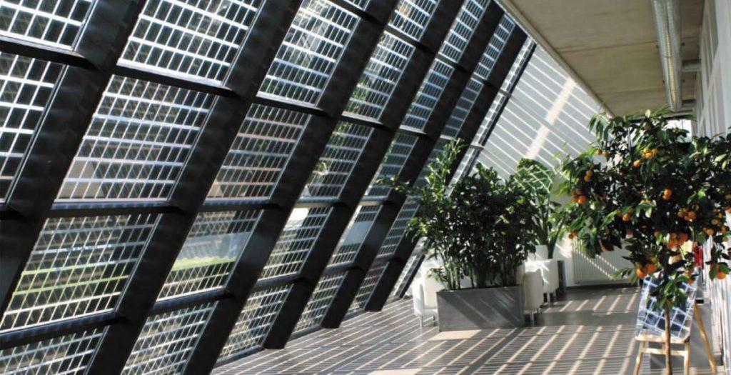 Pannelli solari trasparenti_design