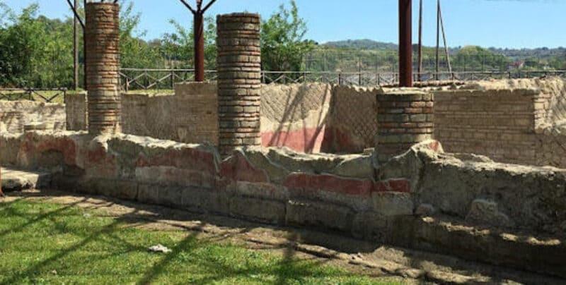 La 'fortuita' scoperta dell'anfiteatro dell'antica Abellinum.