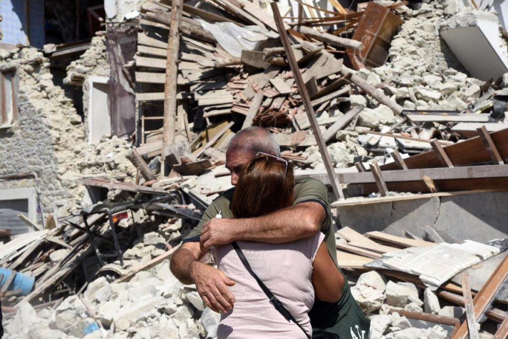 Terremoto L'Aquila: la resilienza degli aquilani.