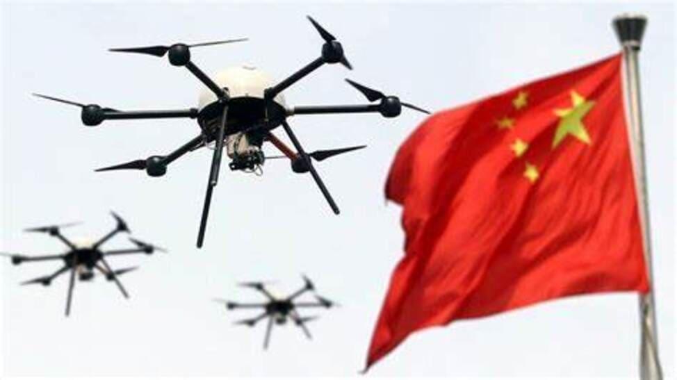 Rete di sorveglianza in Cina: monitoraggio attraverso l'uso dei droni