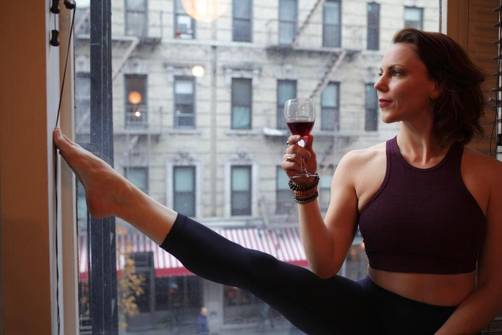 drunk yoga eli walker