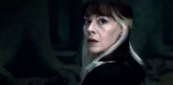 helen mcCrory è narcissa Malfoy in Harry Potter