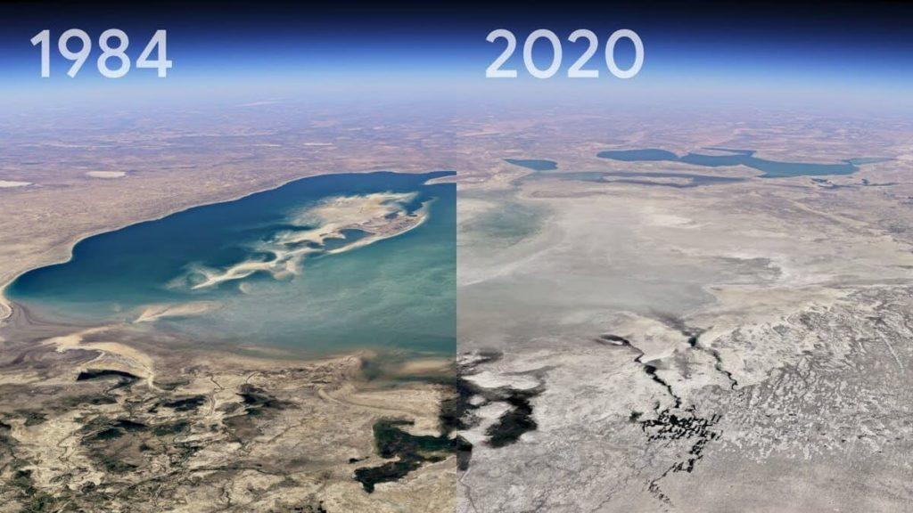 Google Earth Timelapse fa riflettere.