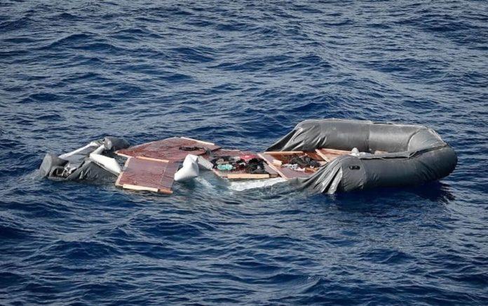 naufragio di migranti al largo della Libia