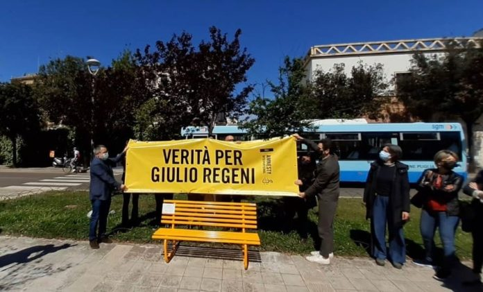 memoria di Giulio Regeni