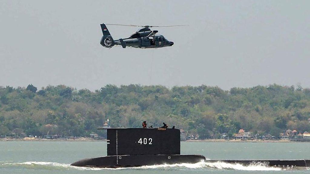 sottomarino scomparso in indonesia