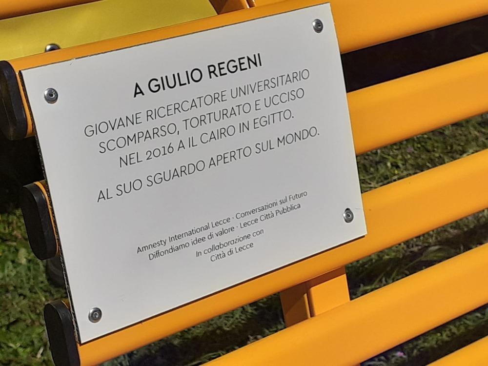 """In Memoria di Giulio Regeni: """"Giulio era un ragazzo che guardava al futuro"""""""