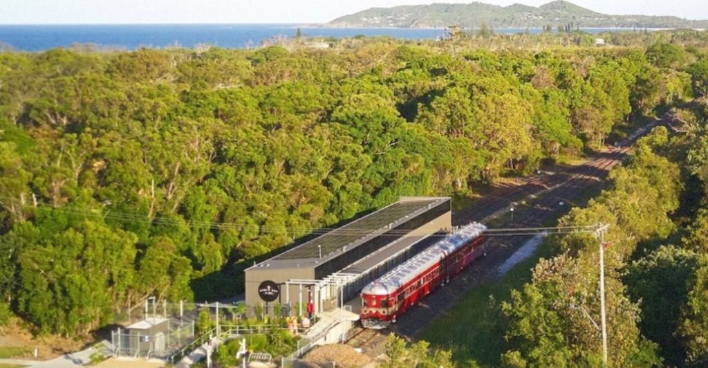 Treno a energia solare_paesaggio