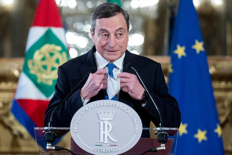 Draghi non percepisce lo stipendio da Premier: il contenuto della sua dichiarazione reddituale