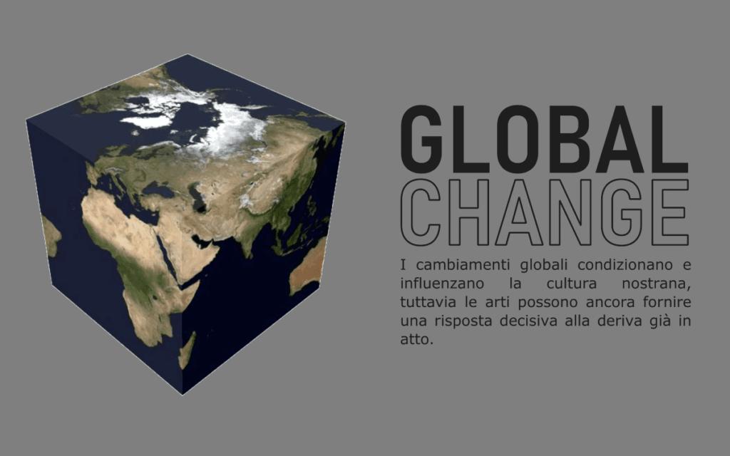 """ANNI VENTI-Global Change"", una riflessione sui tempi attuali."