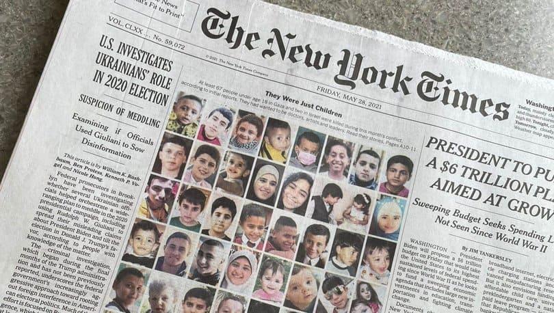 67 bambini uccisi: la polemica sul giornale israeliano Haaretz e sul New York Times (NYT)