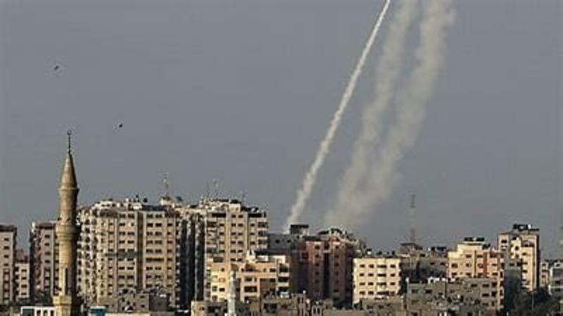 Attacco missilistico di Israele: i razzi di Hamas su Gerusalemme