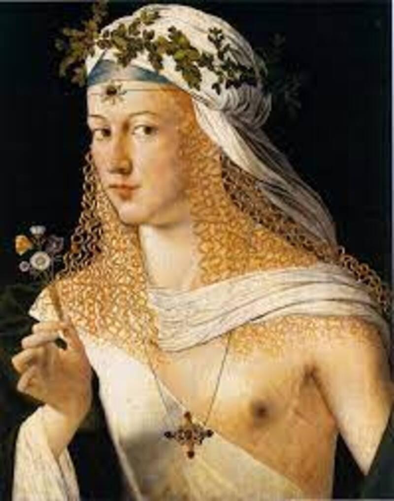 """La leggenda di Lucrezia Borgia, la """"Papessa""""."""